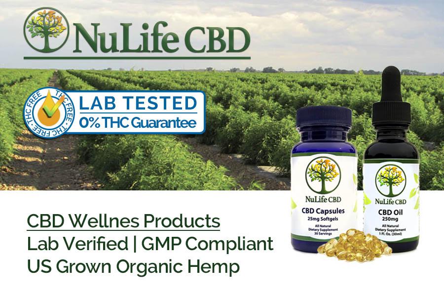 Nulife CBD Oil & CBD Softgel